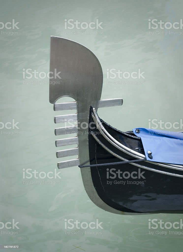 Gondola (Venice) royalty-free stock photo