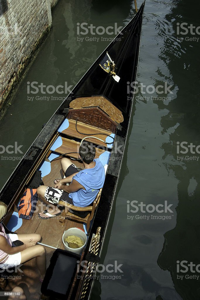 gondola royalty free stockfoto
