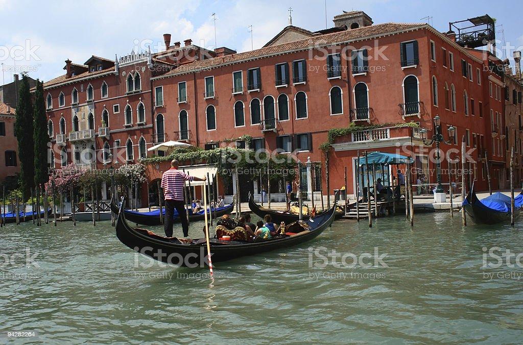 Gondola royalty-free stock photo