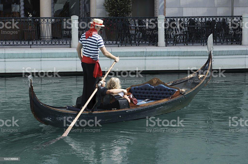 Gondola Ride royalty-free stock photo