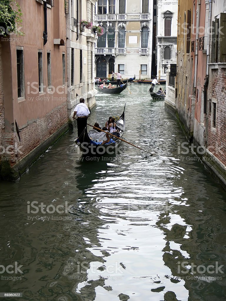 Paseo in gondola foto stock royalty-free