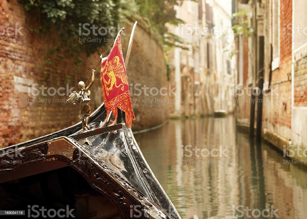 gondola riding royalty-free stock photo
