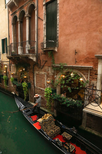 Gondola - Venice Italy stock photo