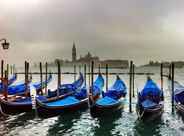 Gondolas in Venice Italy – Foto