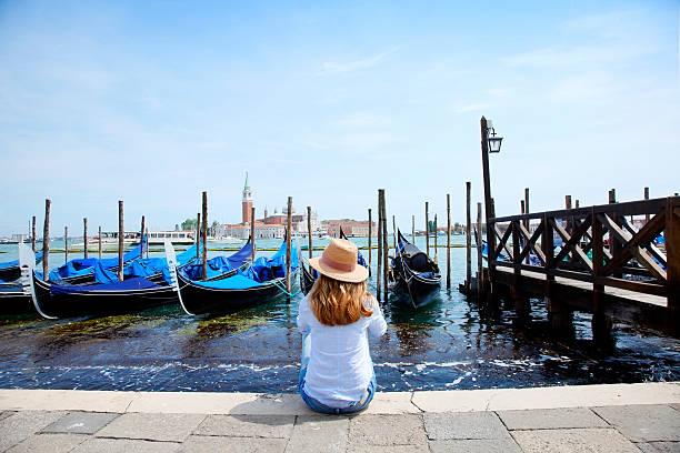 Gondeln in Venedig  – Foto