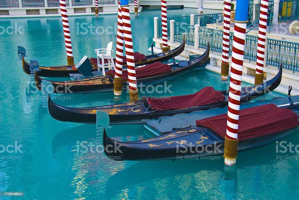 Gondolas royalty-free stock photo