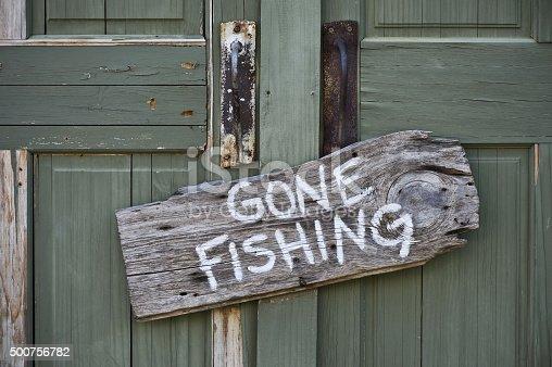 istock Gone Fishing. 500756782