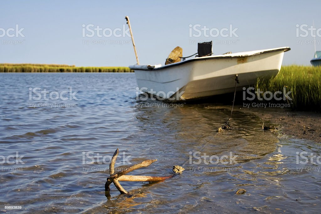 Gone Fishing Lizenzfreies stock-foto