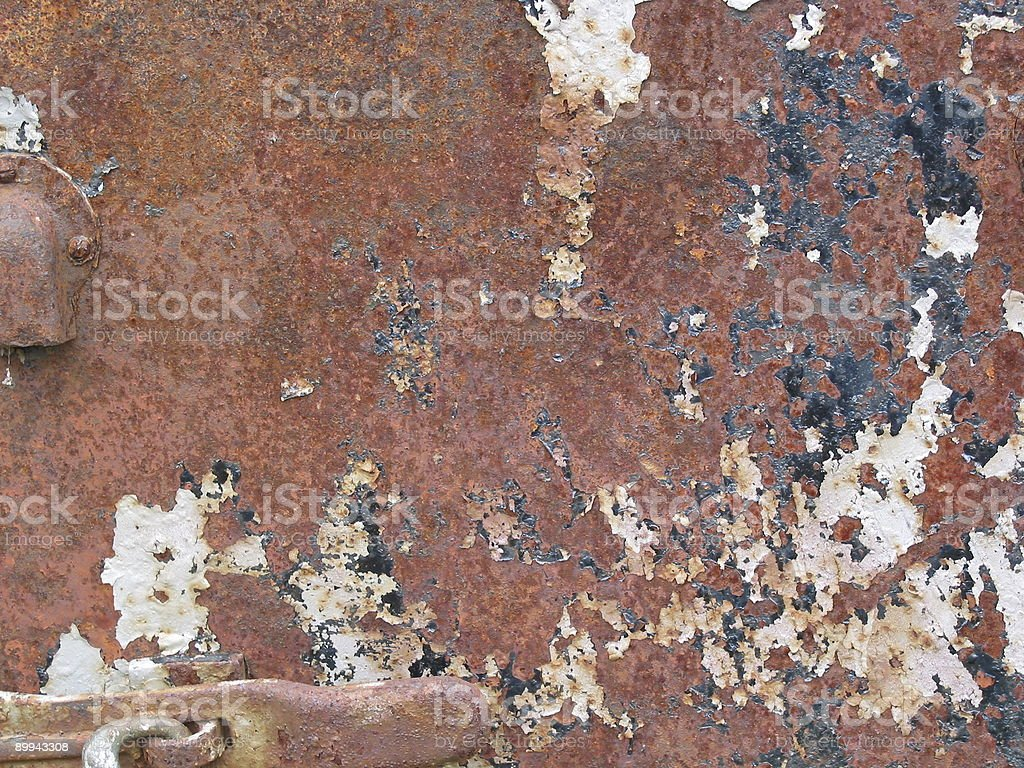 Gone to Rust stock photo