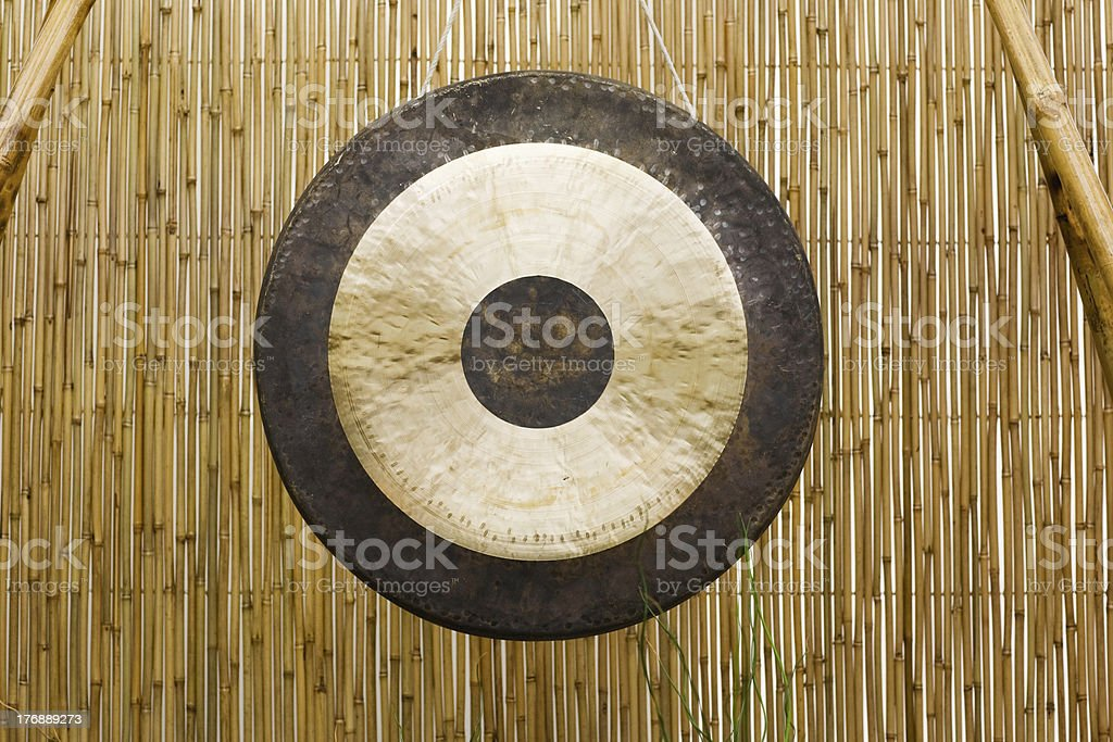 Gong royalty-free stock photo