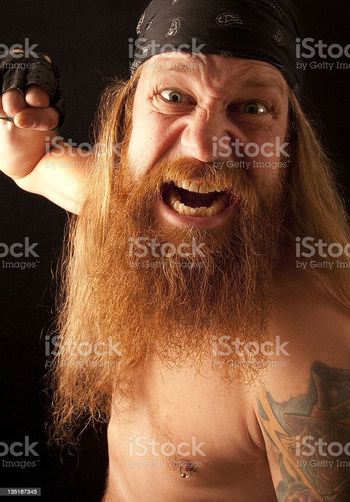 Gonna Get You! stock photo