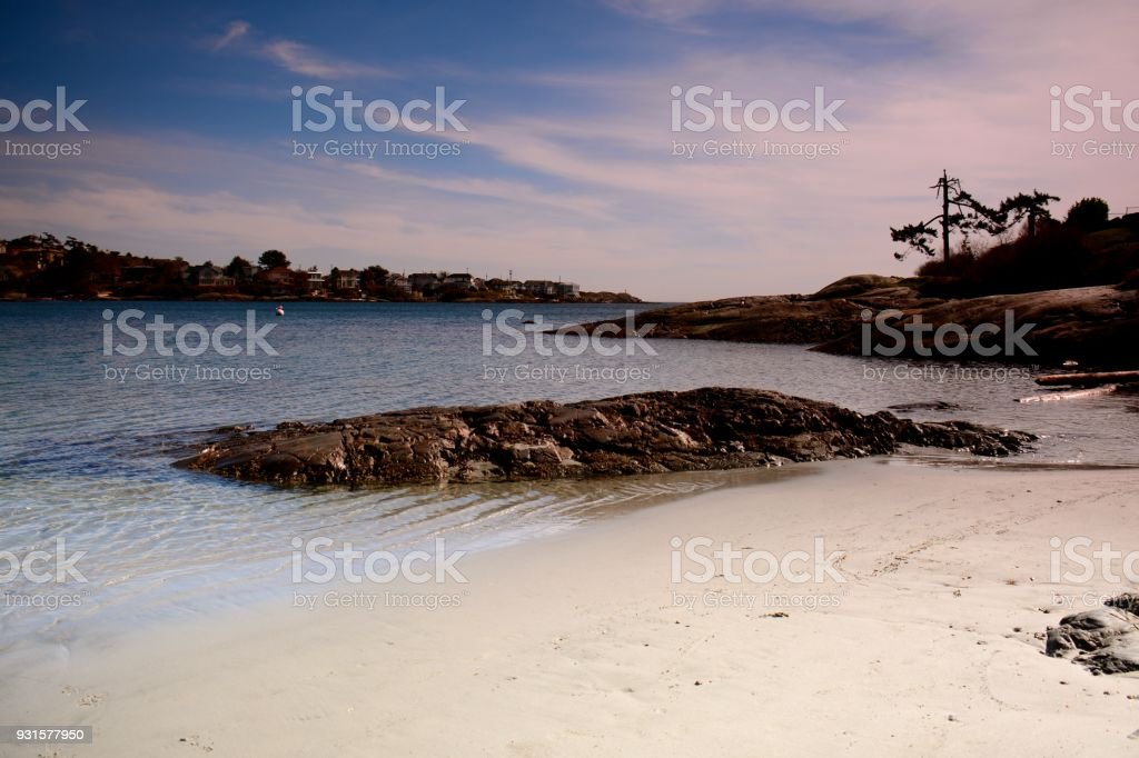 Gonzales Bay royalty-free stock photo