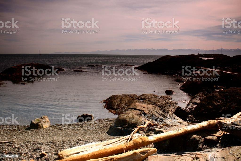 Gonzales Bay stock photo