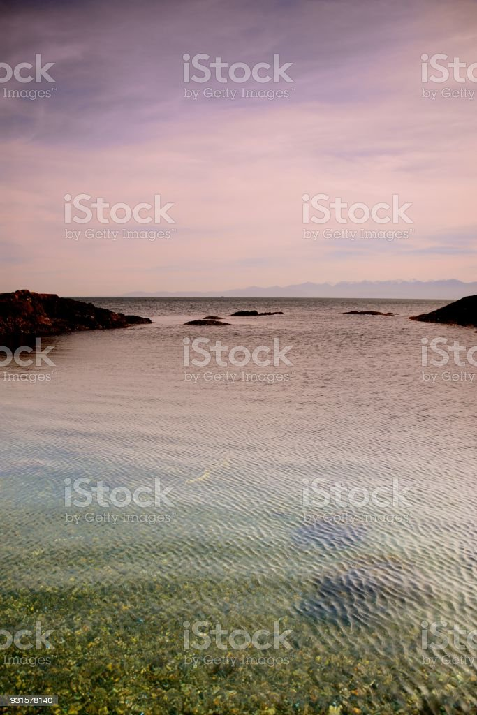 Gonzales Bay stock photo