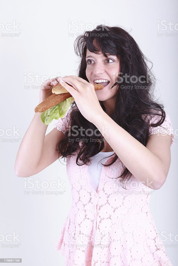 good appetite royalty-free stock photo