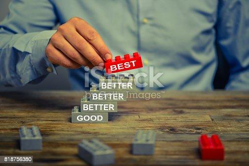 istock Good - Better - Best. 818756380
