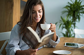 istock Good book and cup of coffee in the morning 490366172