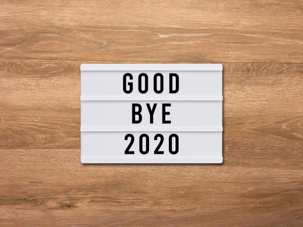 Good bye 2020 new year 2021 Good bye 2020 new year 2021 happy new year 2021 stock pictures, royalty-free photos & images