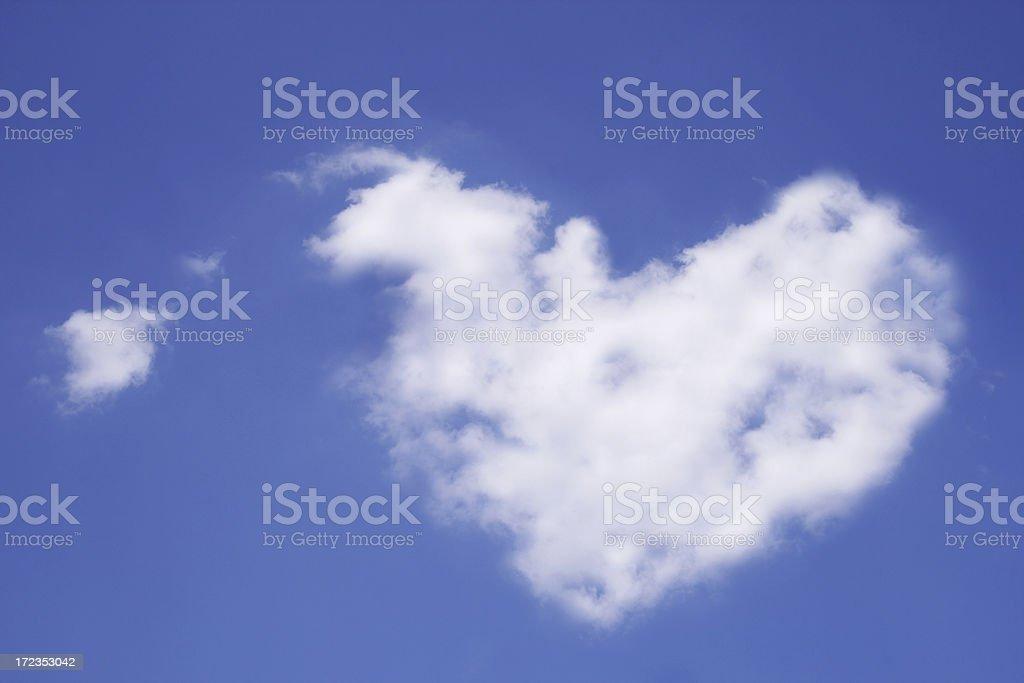 Good bye, sweet heart royalty-free stock photo