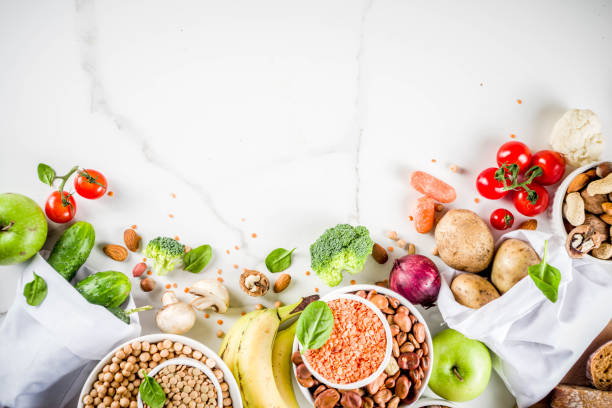 Gute Kohlenhydrat-Faser reiche Lebensmittel – Foto