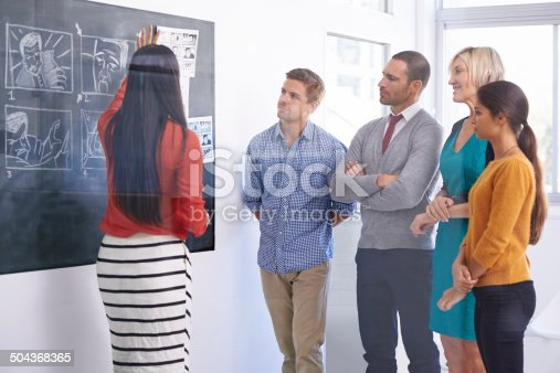 istock Good communication is part of great leadership 504368365