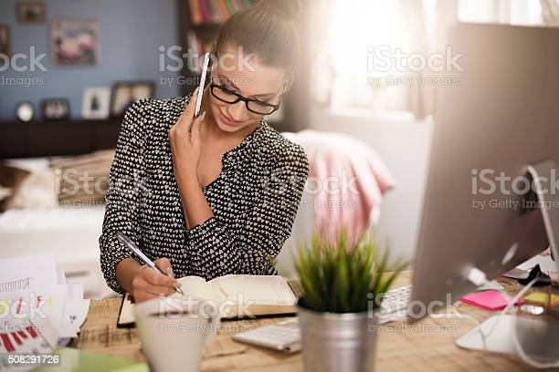 Good Communication With A Client Stock Photo - Download Image Now