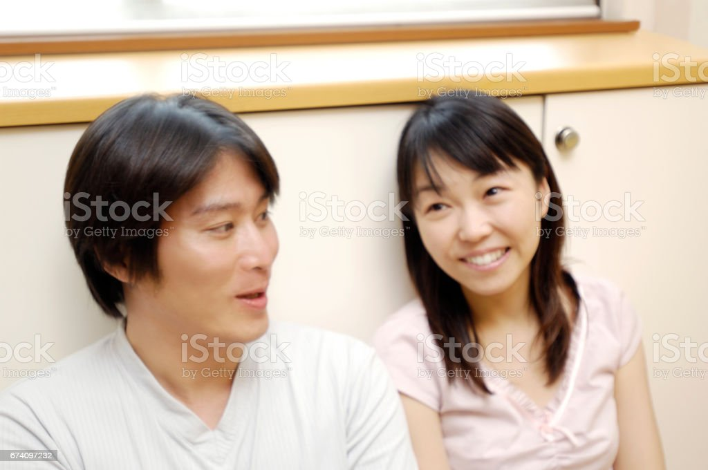 Good couple royalty-free stock photo