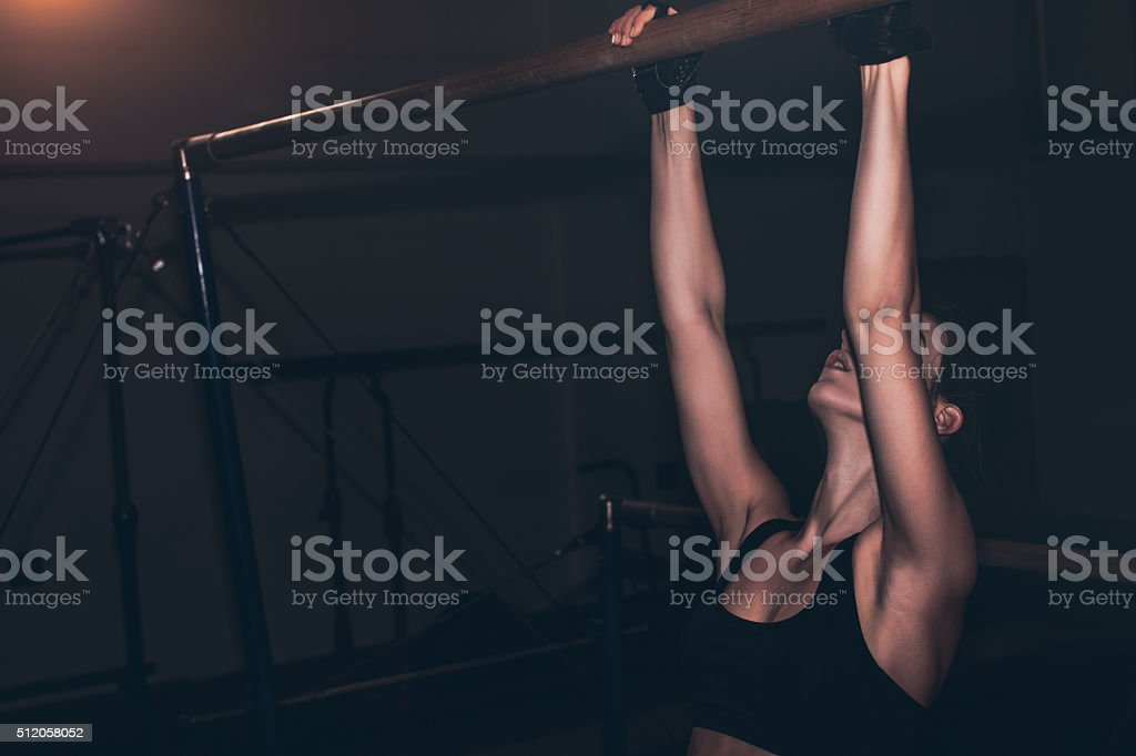 Good daily exercise stock photo