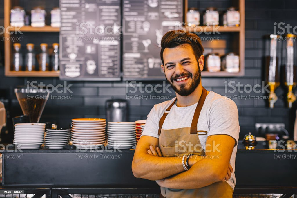 Good day start with coffee! stock photo