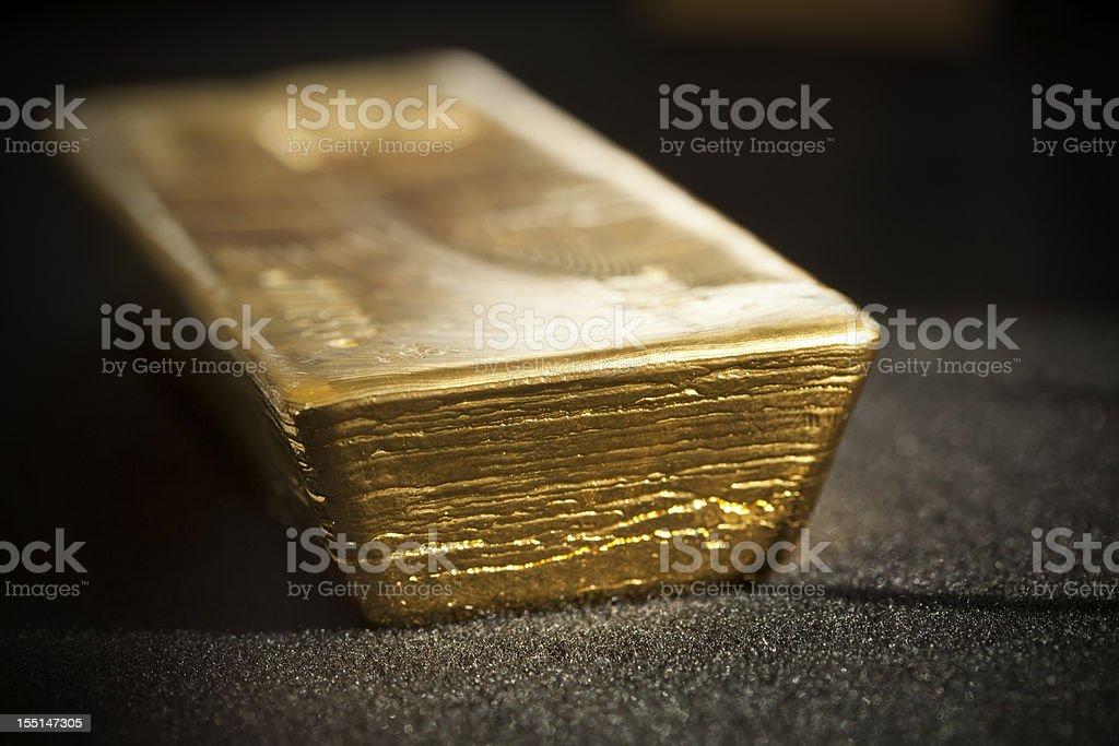 Boa entrega gold bar - foto de acervo
