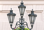 Good electric lantern on Budapest street.