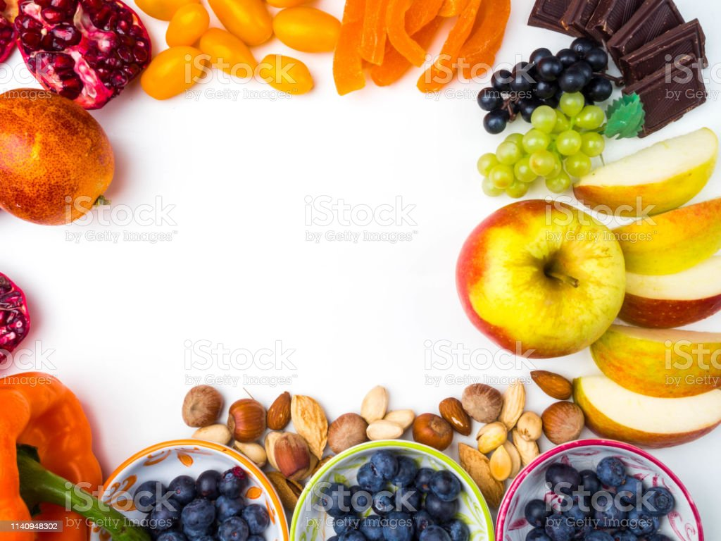 Good Foods For Heart Healthy Diet Super Healthy Food Rich In Antioxidants Good Sources Of Vitamins Resveratrol Stock Photo Download Image Now Istock