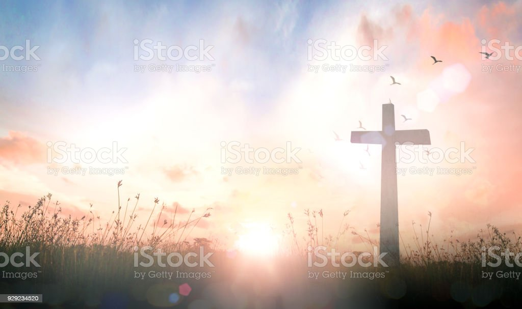 Good Friday concept stock photo