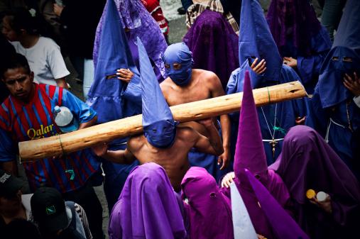 Good Friday (Viernes Santo) in Quito, Ecuador