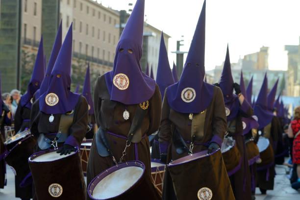 långfredagen procession, spanien - easter procession spain bildbanksfoton och bilder