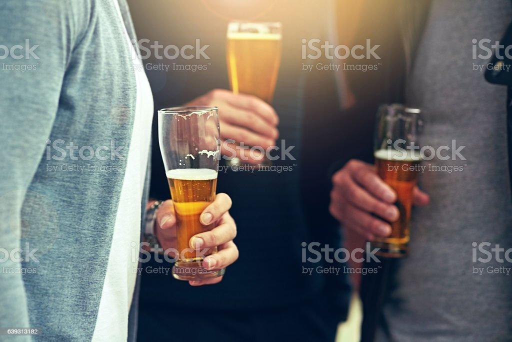 Good friends, good beer – Foto