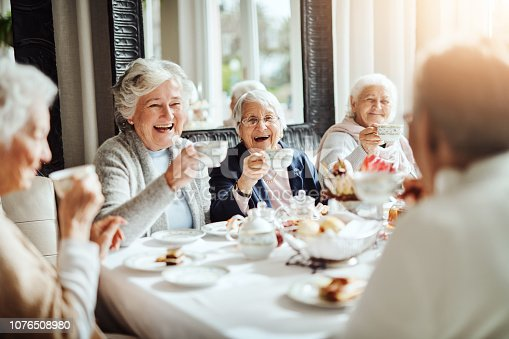 1053414472istockphoto Good friends, good laughs and great tea 1076508980