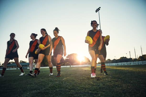 Good game, girls! stock photo