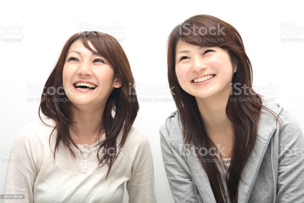 女孩的好朋友 免版稅 stock photo