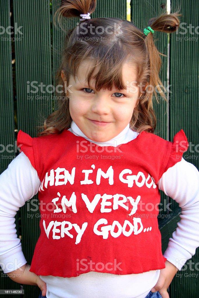 Good Girl royalty-free stock photo