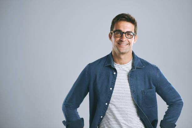 Gute Brille nützen Ihnen mehr Selbstvertrauen – Foto