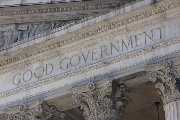 Good Government stock photo