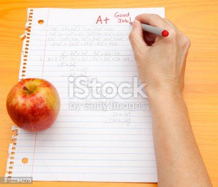 istock Good Grade in Algebra 512294275