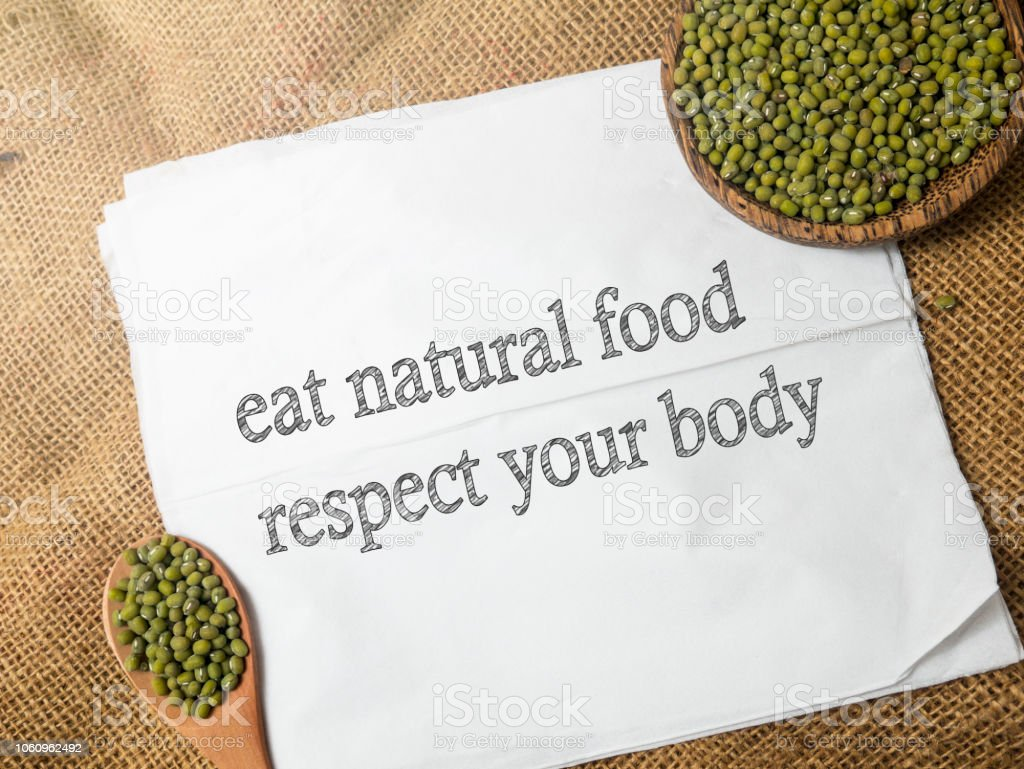 Good Healthy Food Concept Health Lifestyle Motivational ...