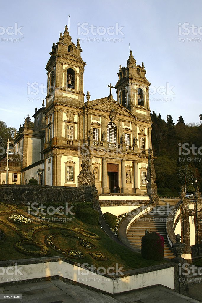 Bom Jesus de Braga royalty-free stock photo