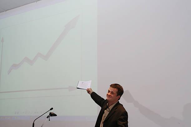 good job lecturer #1 stock photo