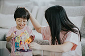 Thailand, head, care, proud, love emotion, concentration, care, boy, son, mother, activity