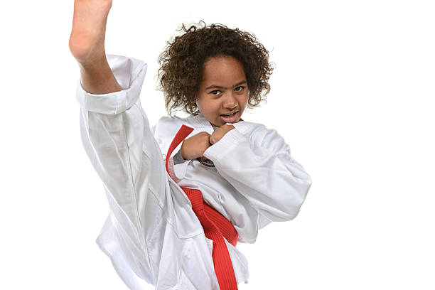 good kid - martial arts gerville stock photos and pictures