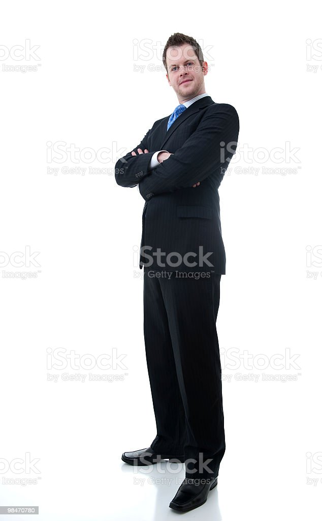 good looking business man royalty-free stock photo