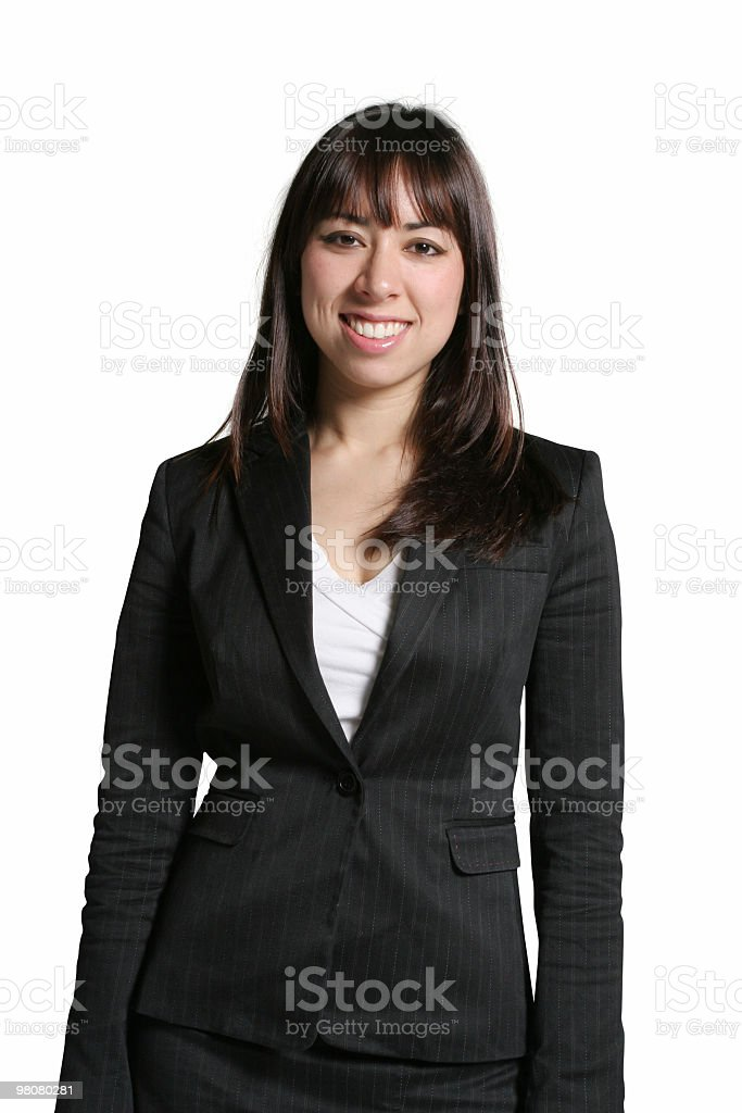 Good looking businesswoman royalty-free stock photo